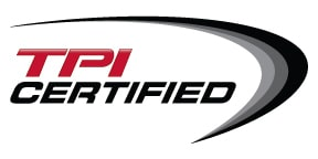 Chiropractic Naples FL TPI certified logo